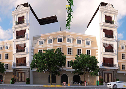 bản thiết kế nhà phố đẹp