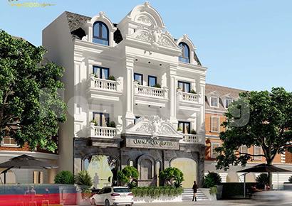 giá thiết kế khách sạn