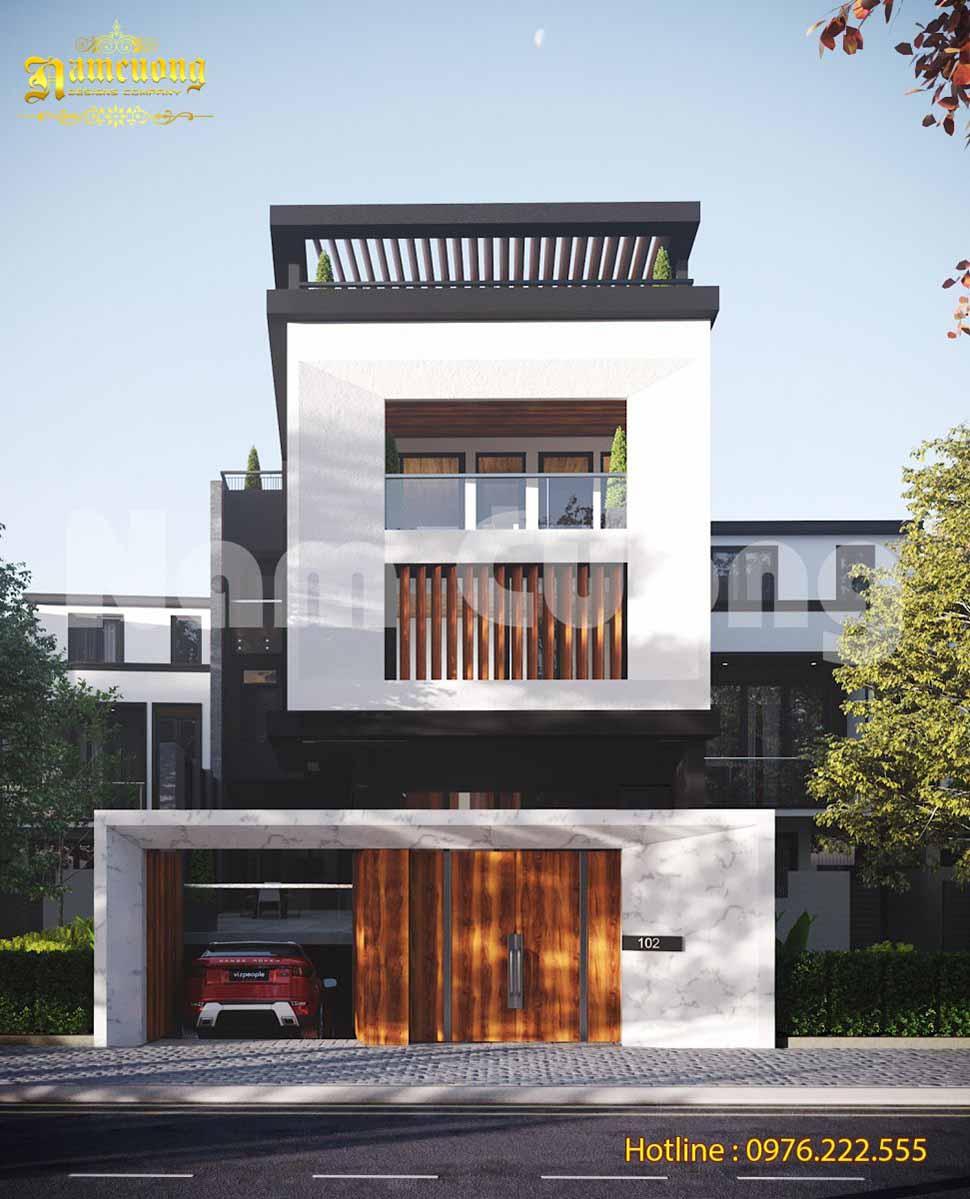 Các mẫu thiết kế biệt thự 2 tầng diện tích 120m2 đẹp nhất