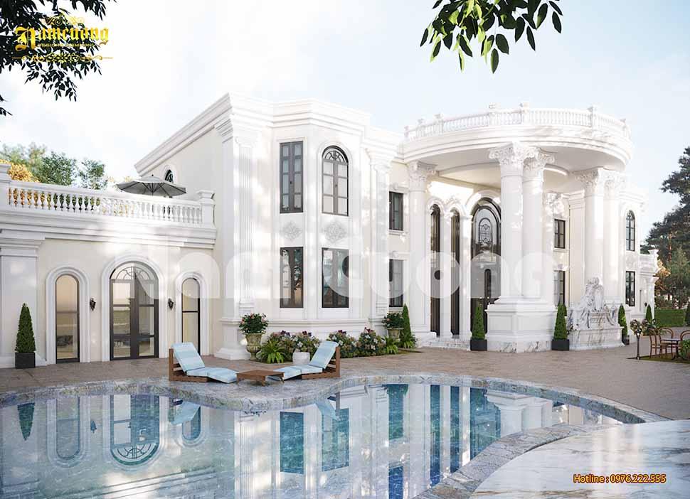 Biệt thự vườn có bể bơi