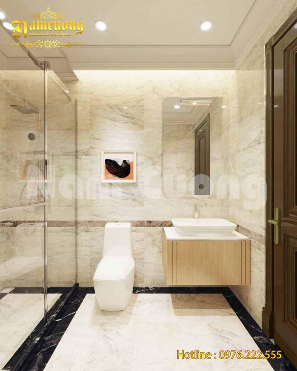 Nội thất phòng WC đẹp tinh tế