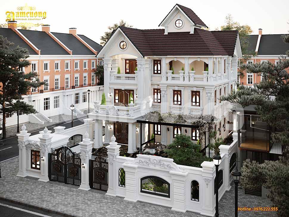 Thiết kế biệt thự nhà vườn 500m2