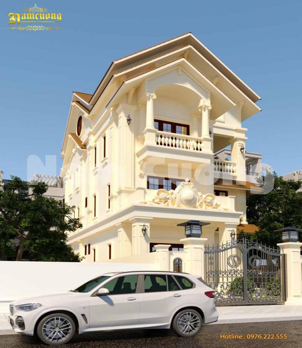 biệt thự phố 3 tầng tại Nam Định
