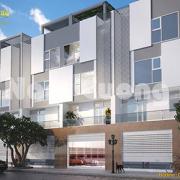 Biệt thự lô phố 3 tầng hiện đại