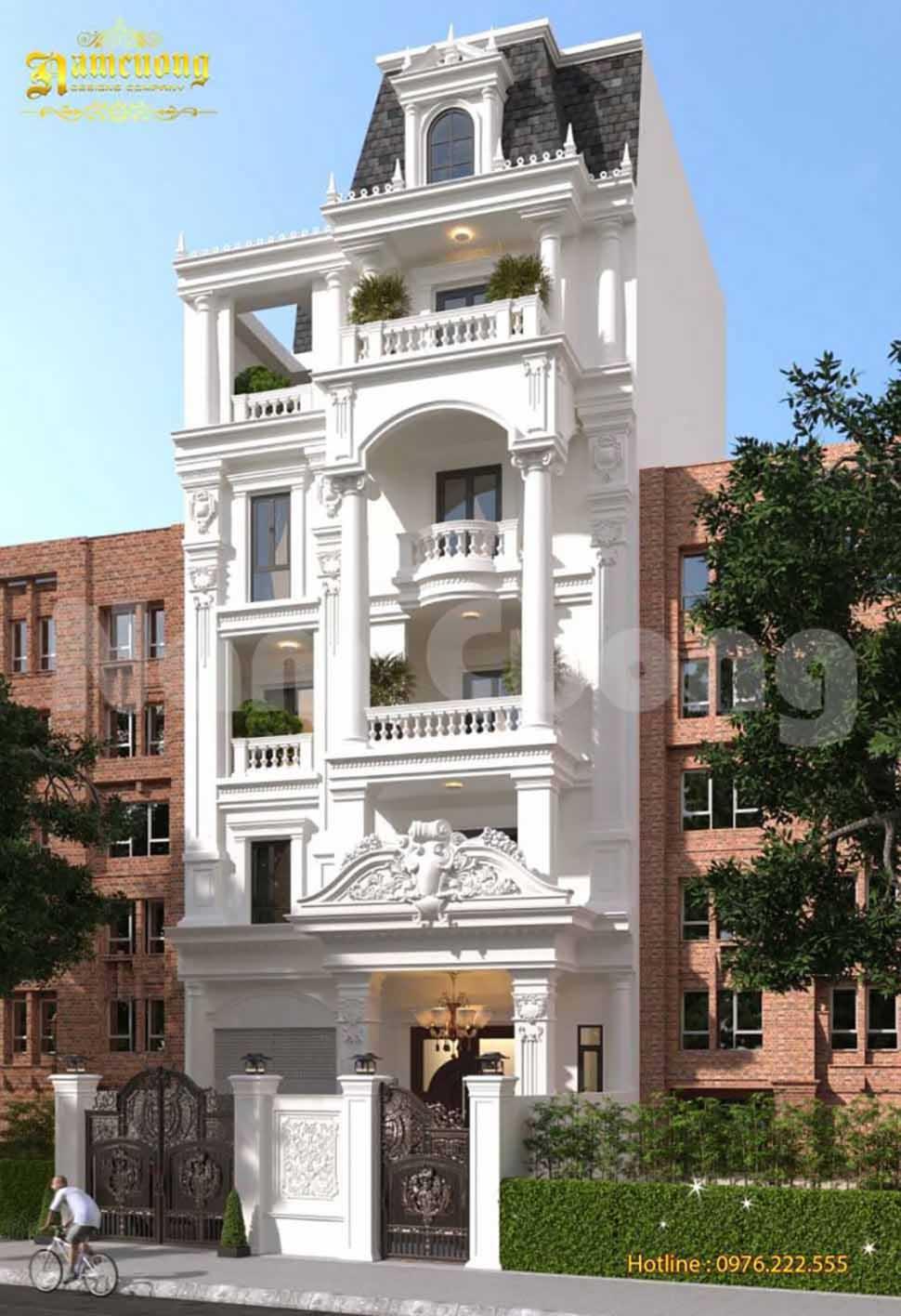 biệt thự tân cổ điển tại Lạng Sơn