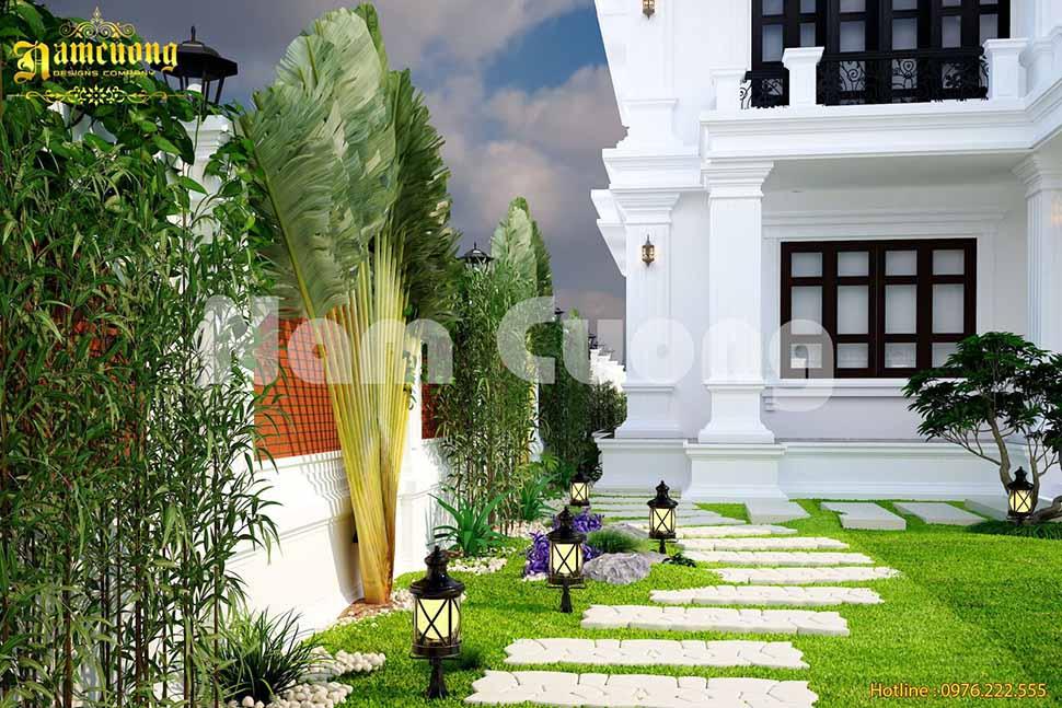 nội thất biệt thự sân vườn