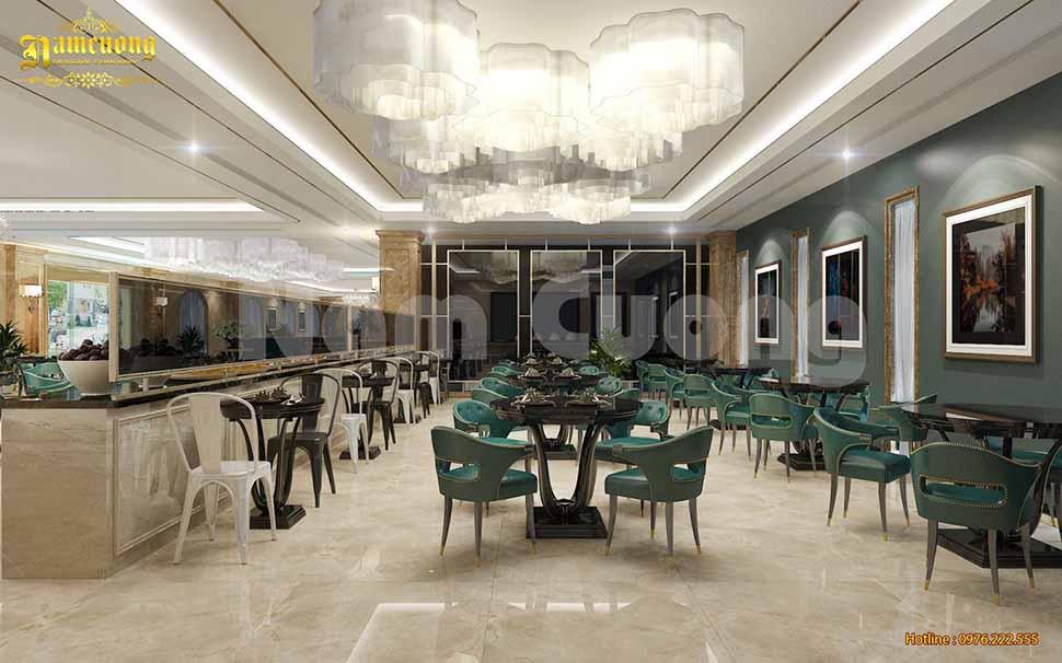 phòng ăn khách sạn