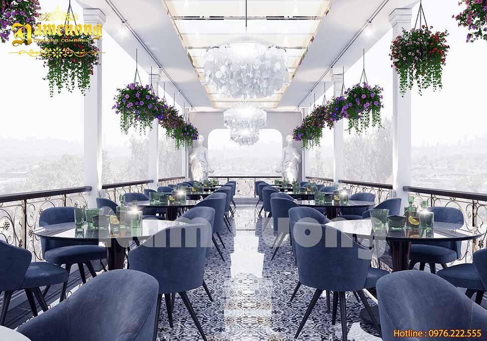 khu cafe khách sạn 3 sao