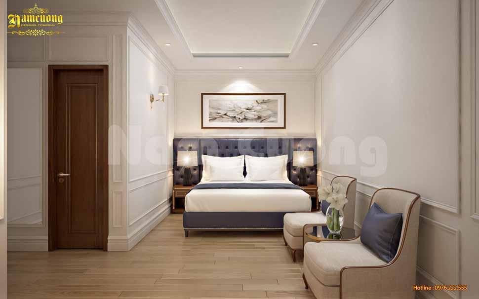 mẫu phòng ngủ khách sạn 3 sao