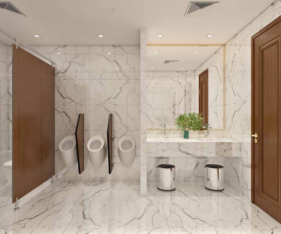 phòng tắm khách sạn 3 sao
