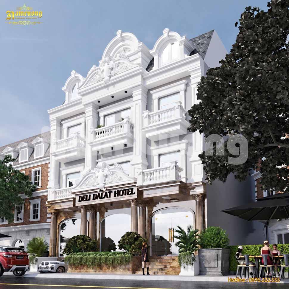 kiến trúc khách sạn 3 sao