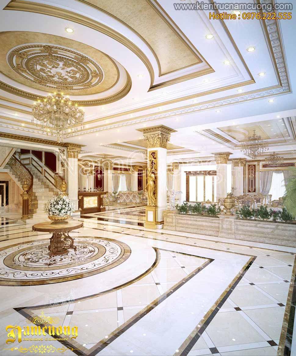 thiết kế sảnh khách sạn 3 sao
