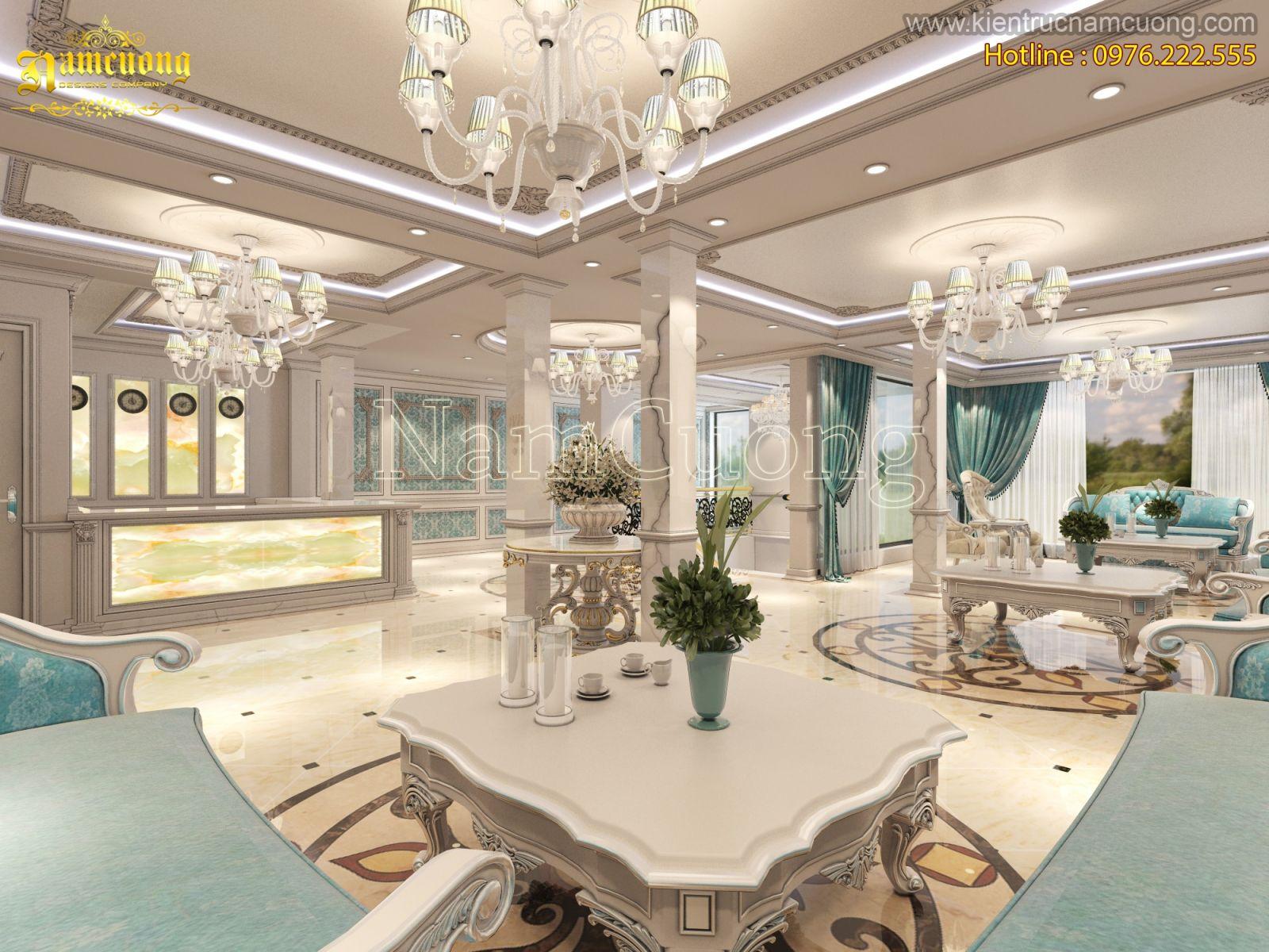 mẫu sảnh khách sạn đẹp