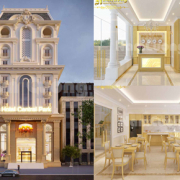 thiết kế khách sạn mini 3 sao