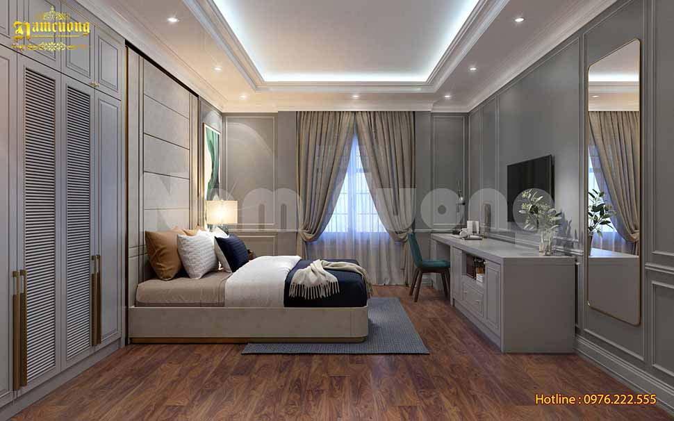phòng ngủ nhà phố rộng 5m
