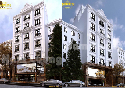 kiến trúc khách sạn 4 sao