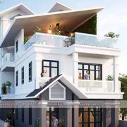 Thiết kế nhà 3 tầng 100m2