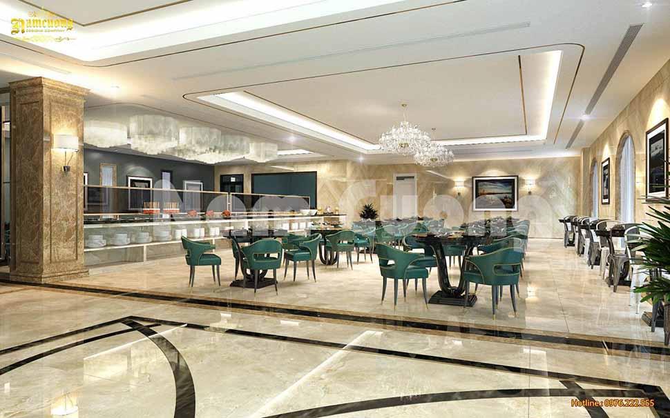 nhà hàng buffet khách sạn