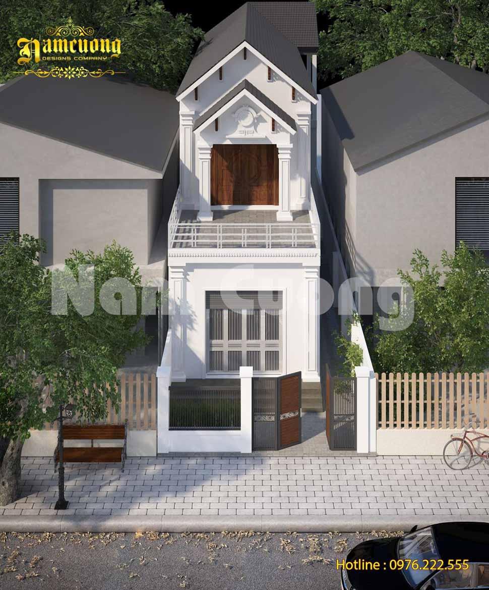 mẫu nhà phố 5x20m