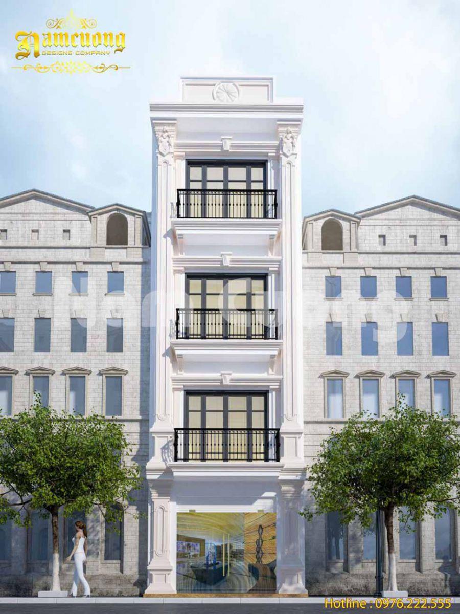 mẫu thiết kế nhà phố