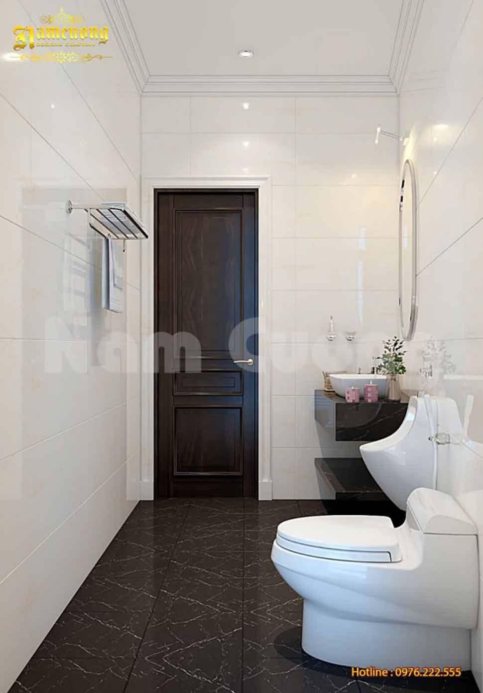 phòng WC nhà phố 5m giá rẻ