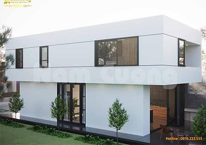 mẫu nhà phố 5x15m 2 tầng