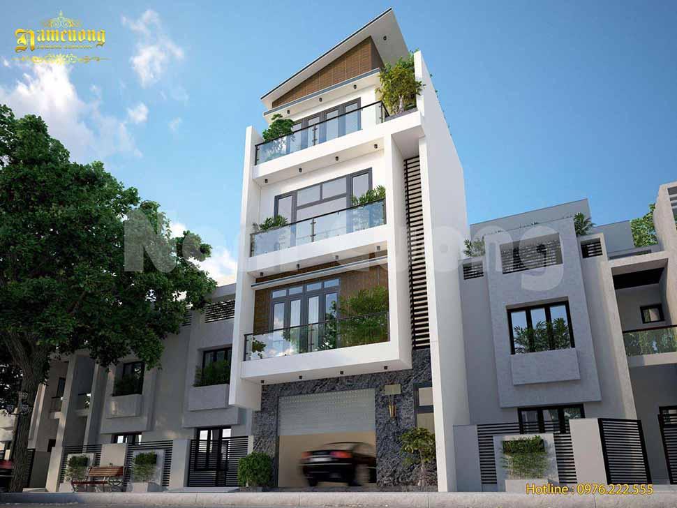 kiến trúc nhà phố hiện đại