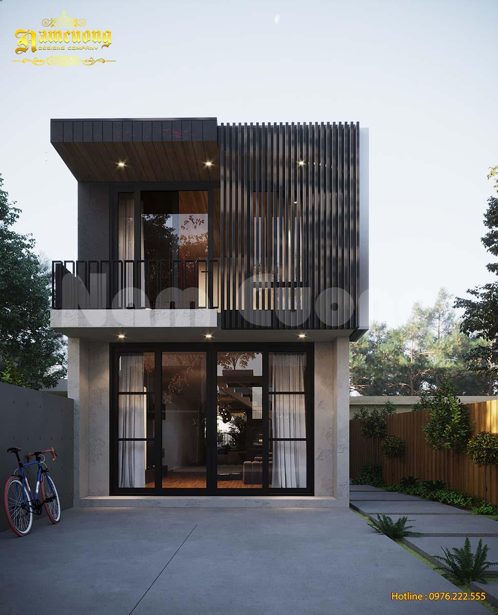kiến trúc nhà phố ngang 6m đơn giản