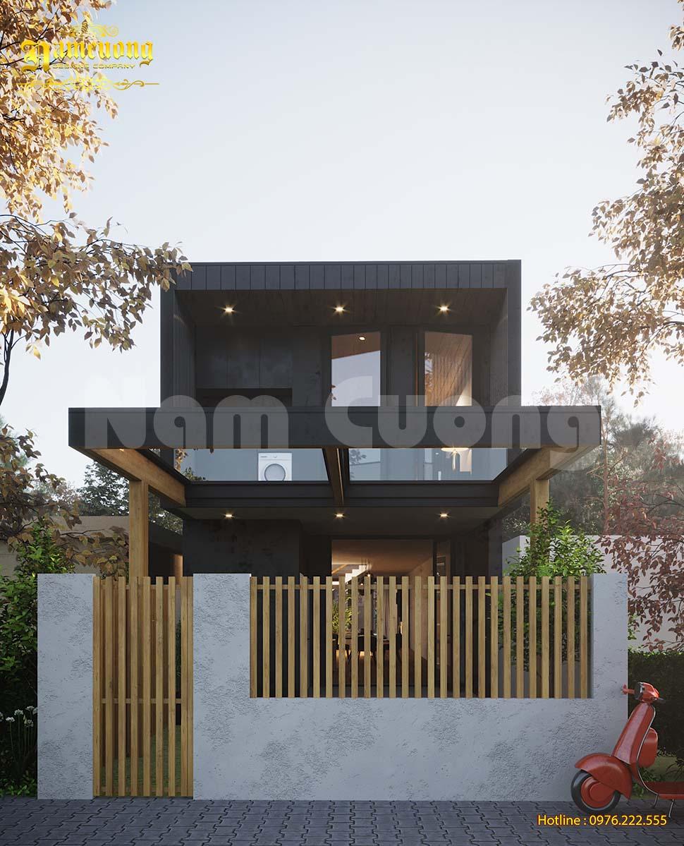 thiết kế nhà phố mặt tiền 6m đơn giản
