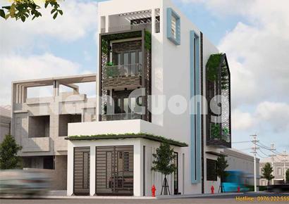 mẫu nhà phố hiện đại đẹp