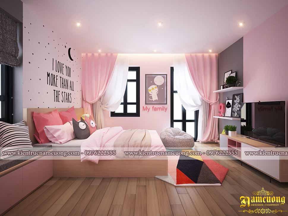phòng ngủ con trẻ
