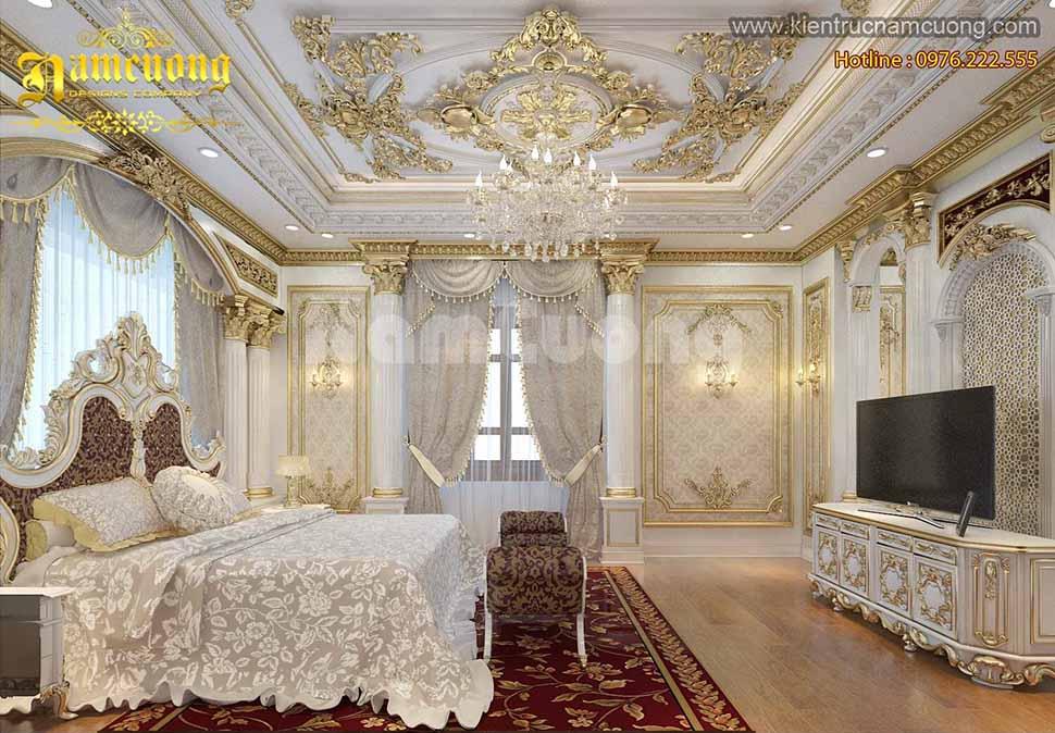 Phòng Ngủ biệt thự Pháp