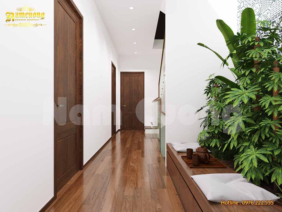 Tiểu cảnh xinh đẹp trong căn biệt thự 3 tầng