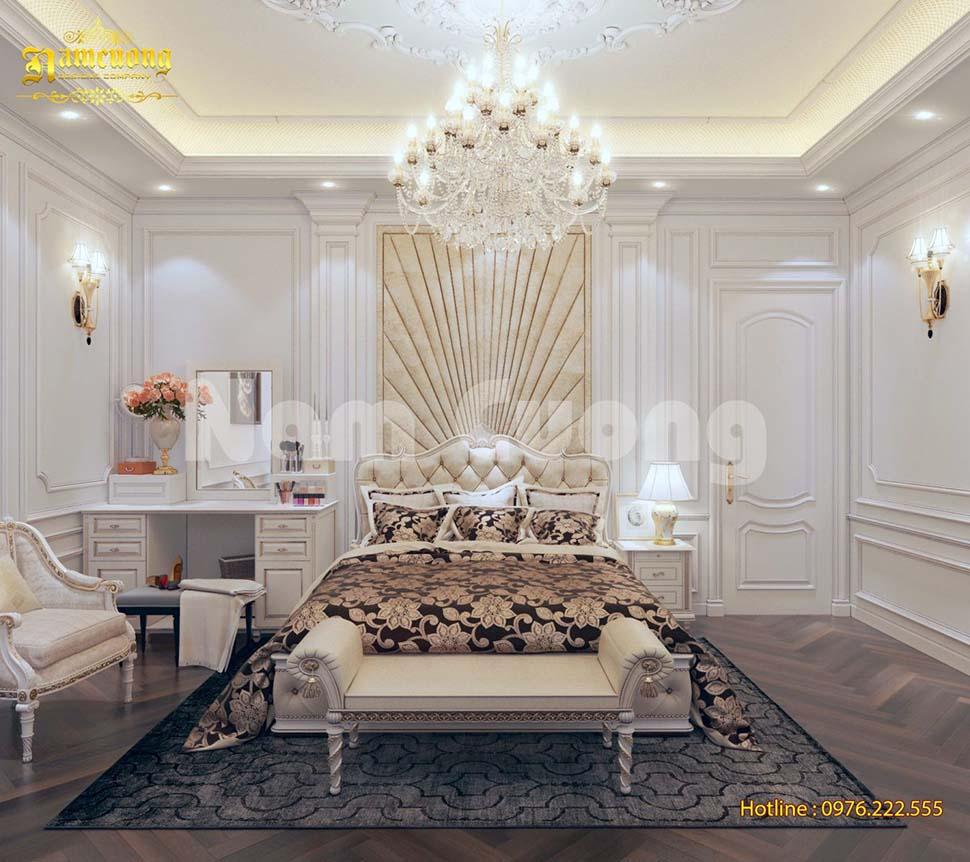 thiết kế nội thất phòng ngủ 3 sao