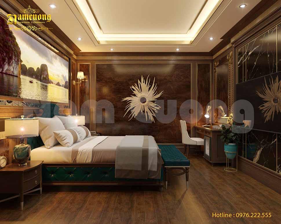 phòng ngủ trong khách sạn