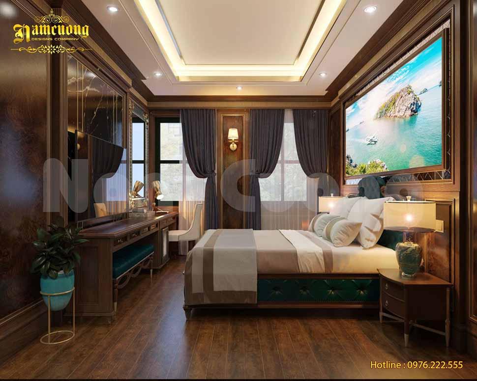 nội thất phòng ngủ khách sạn