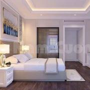 Phối cảnh phòng ngủ khách sạn mini 3 sao