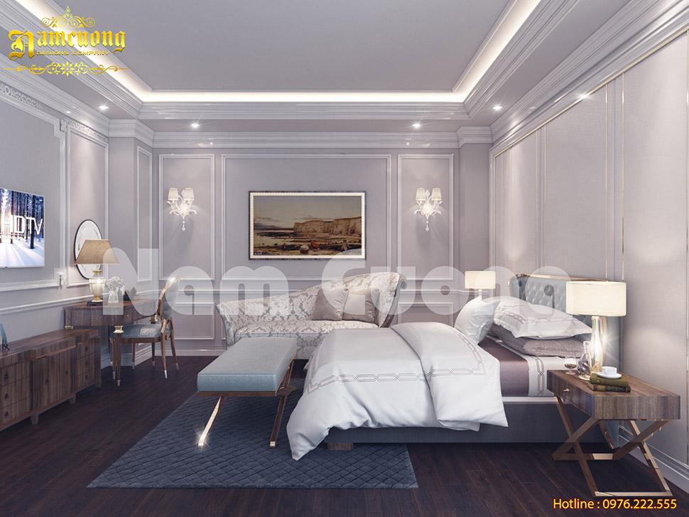 Không gian phòng ngủ cực đẳng cấp