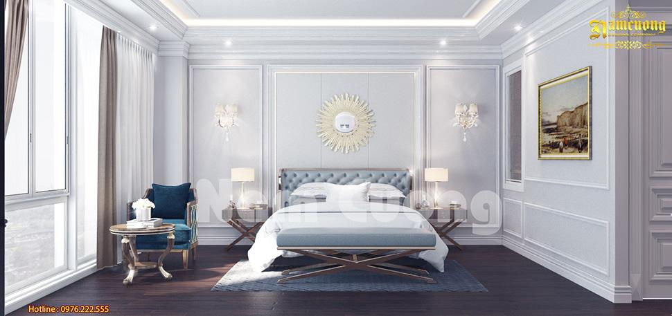 Phối cảnh phòng ngủ ở khách sạn 5 sao đẹp