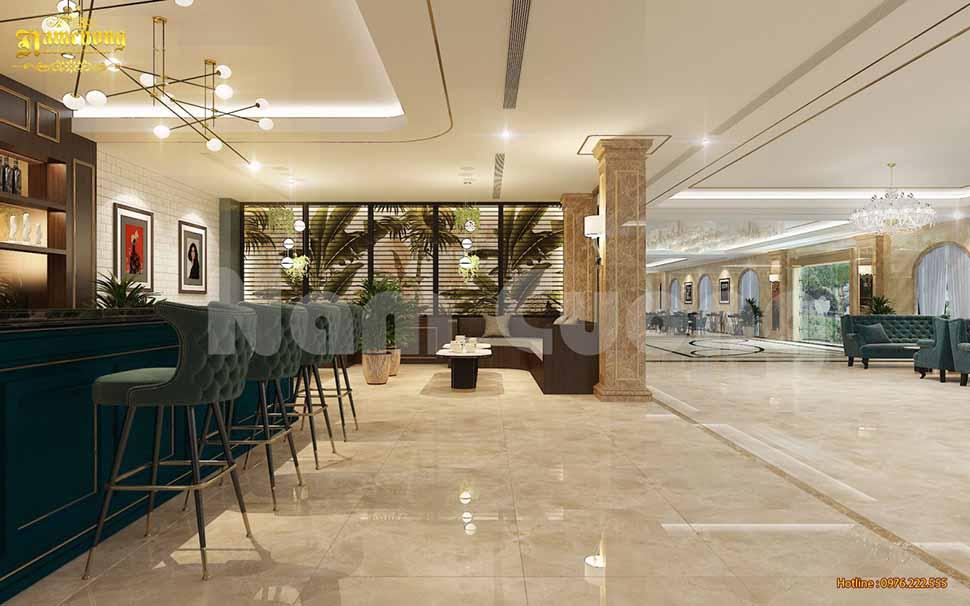 quán cafe trong khách sạn