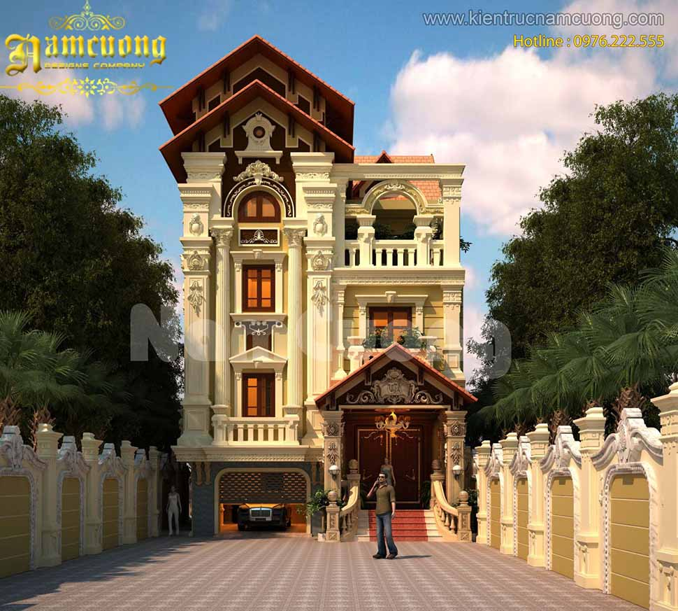 biệt thự phố Mái Thái