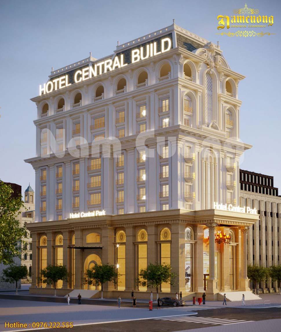 tổng hợp các mẫu kiến trúc khách sạn 4 sao