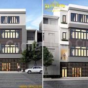 mẫu thiết kế nhà mặt tiền 8m sâu 20m