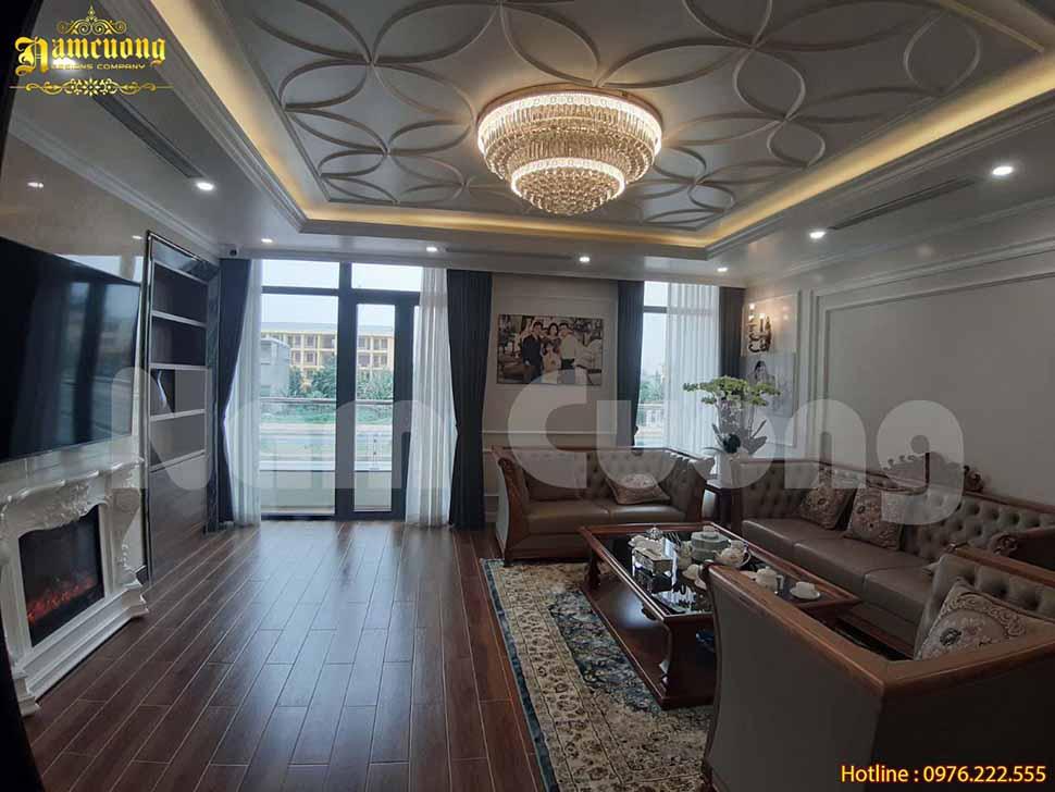 Tổng hợp các mẫu thiết kế phòng khách 16m2 đẹp hiện đại