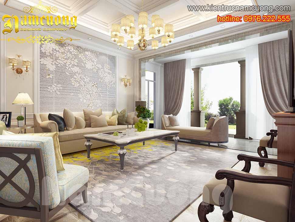 Thiết kế phòng khách không gian mở đúng  phong thủy