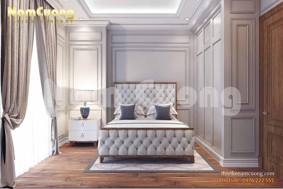 Các mẫu thiết kế nội thất phòng ngủ 15m2