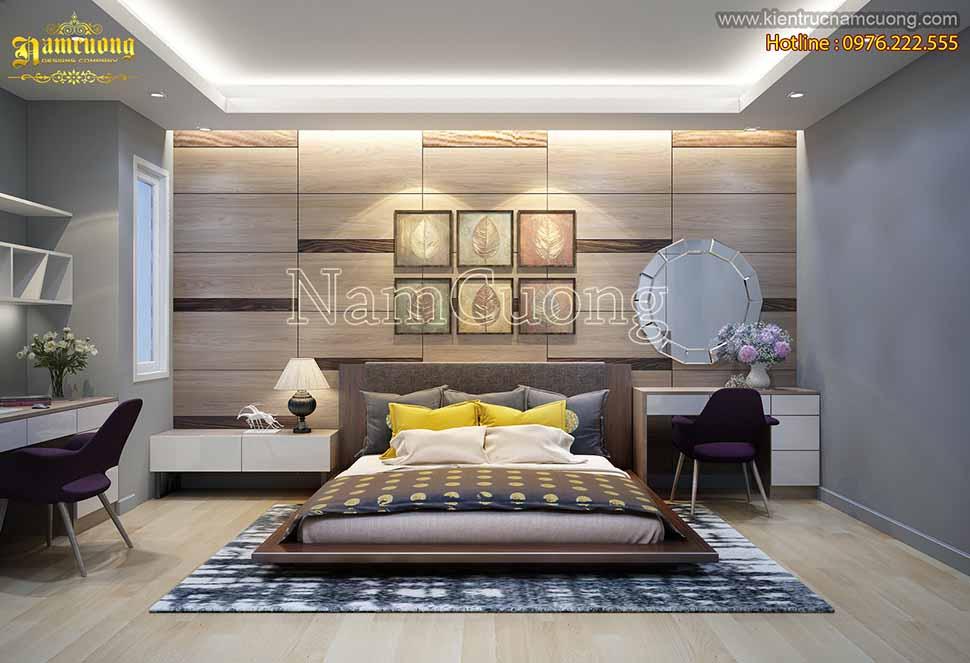 Tổng hợp mẫu thiết kế phòng ngủ có bàn làm việc