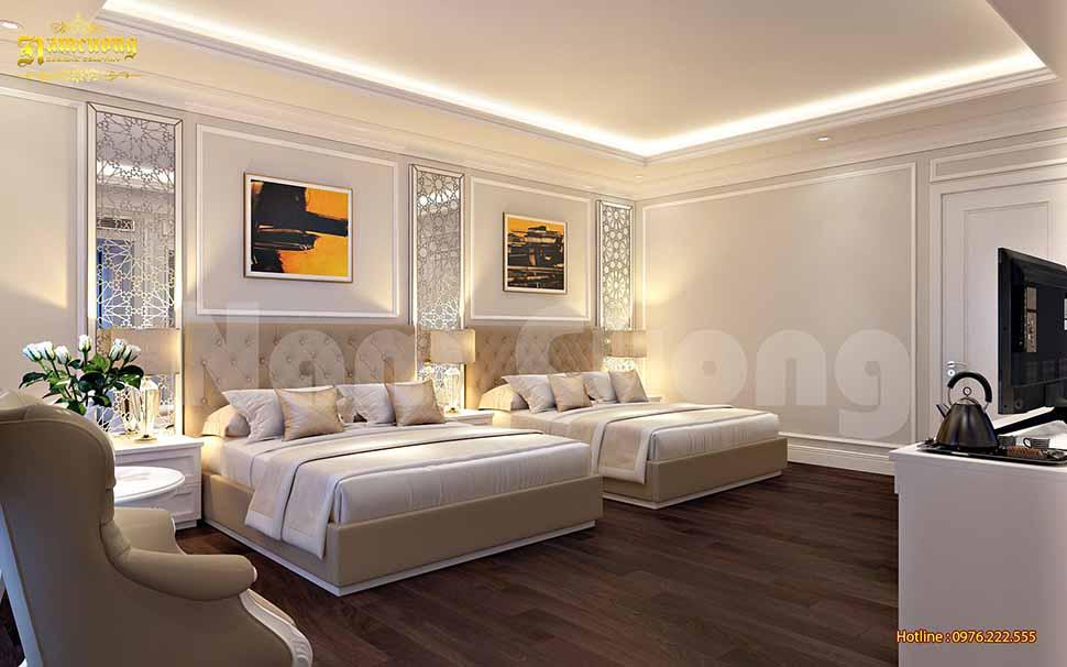 phòng ngủ đôi khách sạn 3 sao