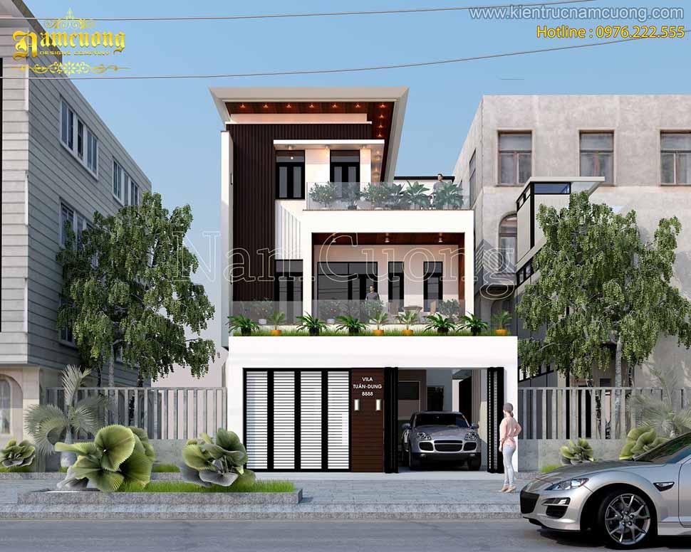 xây nhà 3 tầng hiện đại