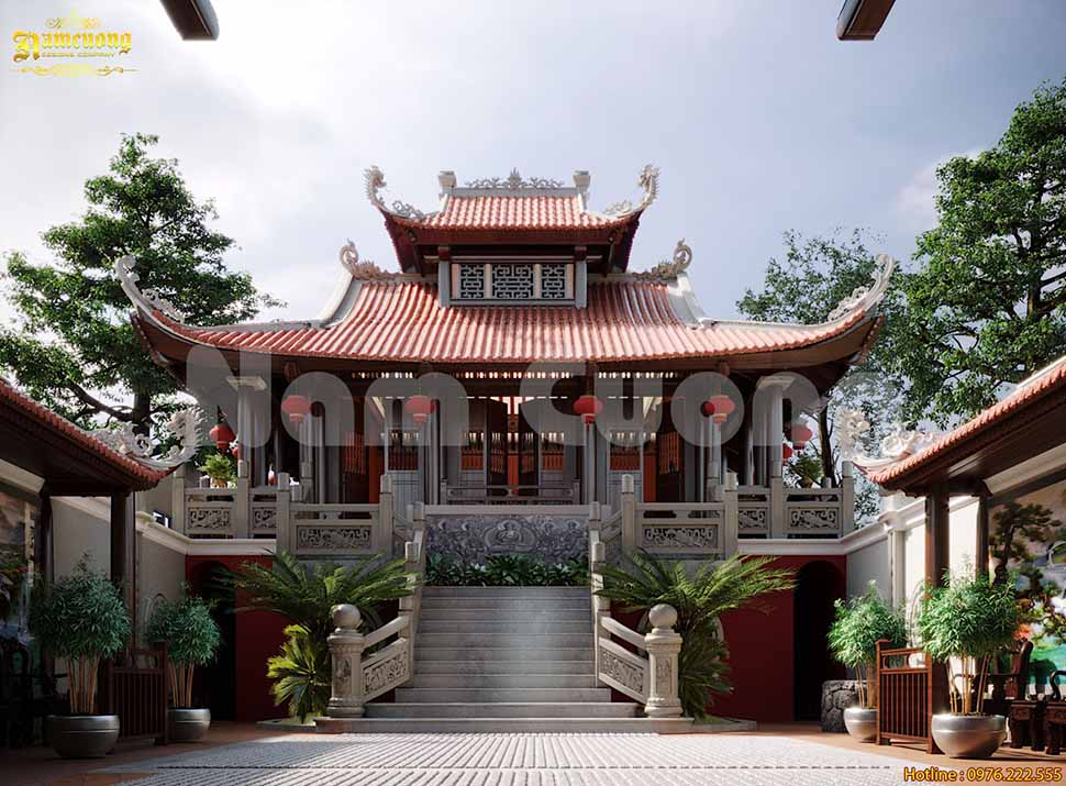 xây chùa trọn gói